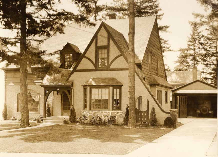 Alameda old house history for Historic tudor house plans