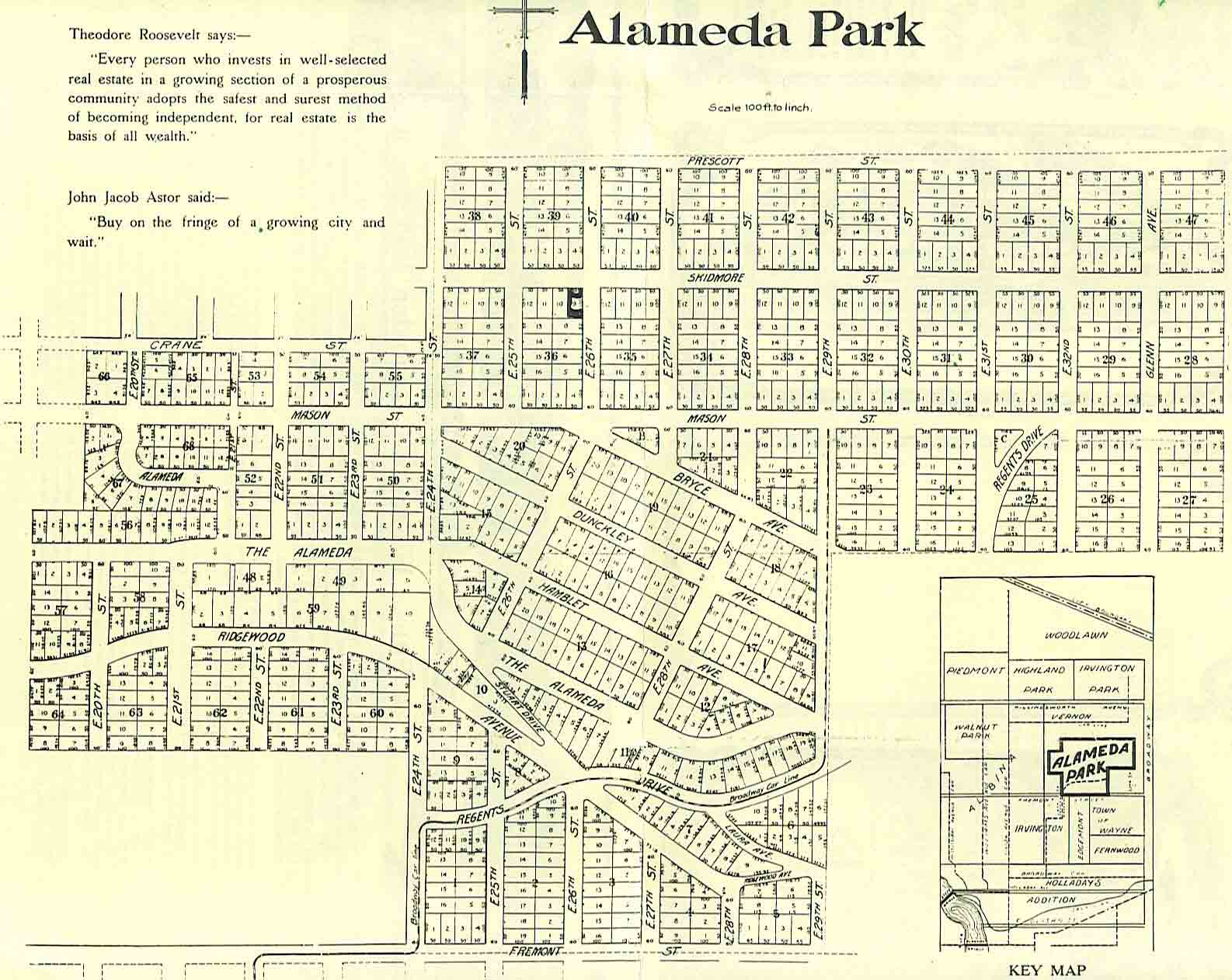 The Maps Alameda Old House History