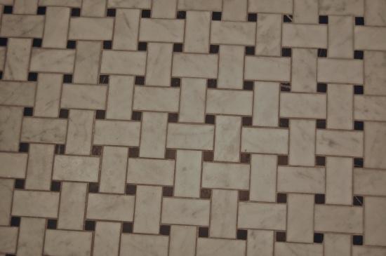 Bathroom Tile Detail - Thomas Prince House