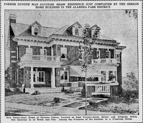 Thomas Prince House 1917