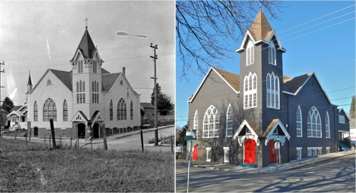 Zion Church Then and Now
