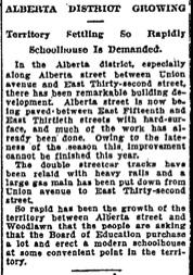 School demanded, 12-25-1910