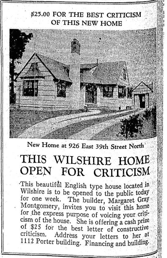 9-2-1928 House criticism ad (1)