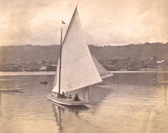Willamette River scene