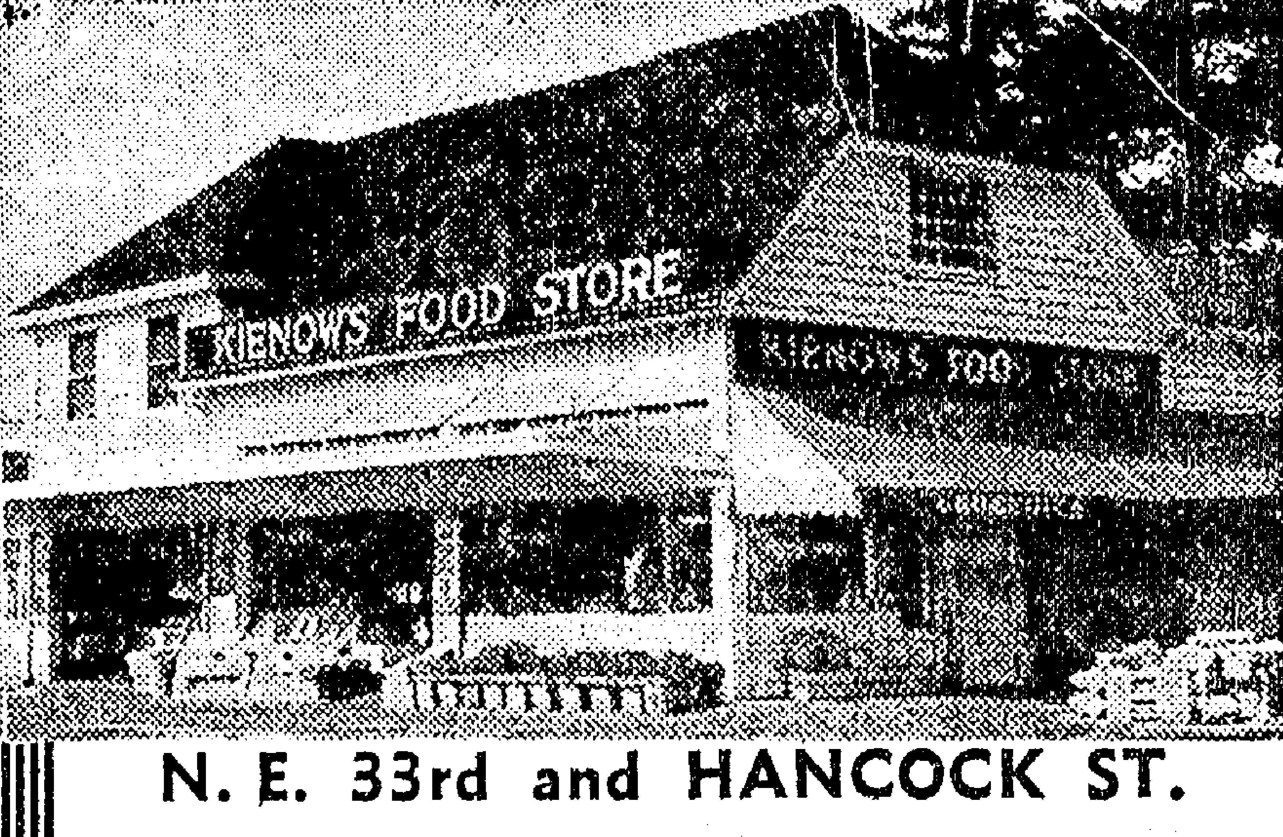 37e38e7409cf0 Beyond living memory  Here s the original store that stood at the southwest  corner of 33rd and Hancock